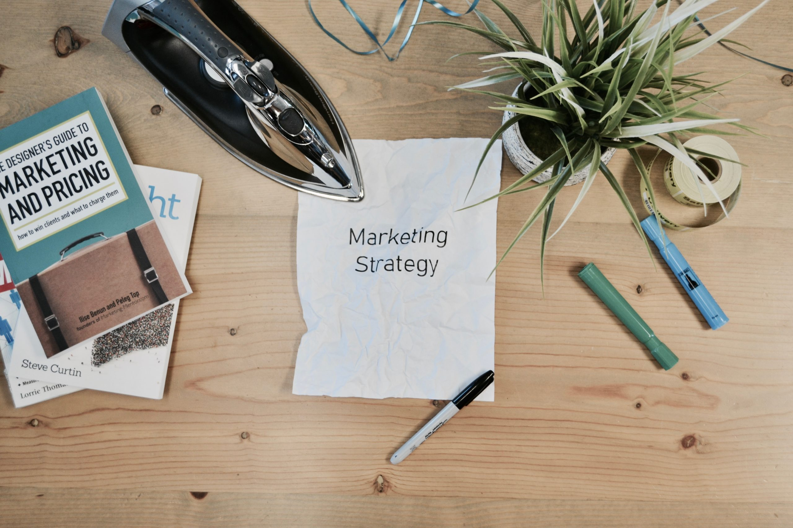 Inbound marketing strategy paper and stationary